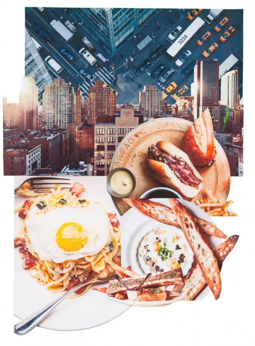 Нью-Йорк ресторан еда голод