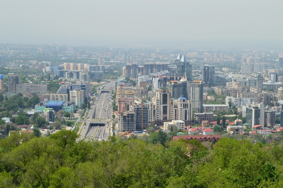 Алматы Казахстан город урбанистика