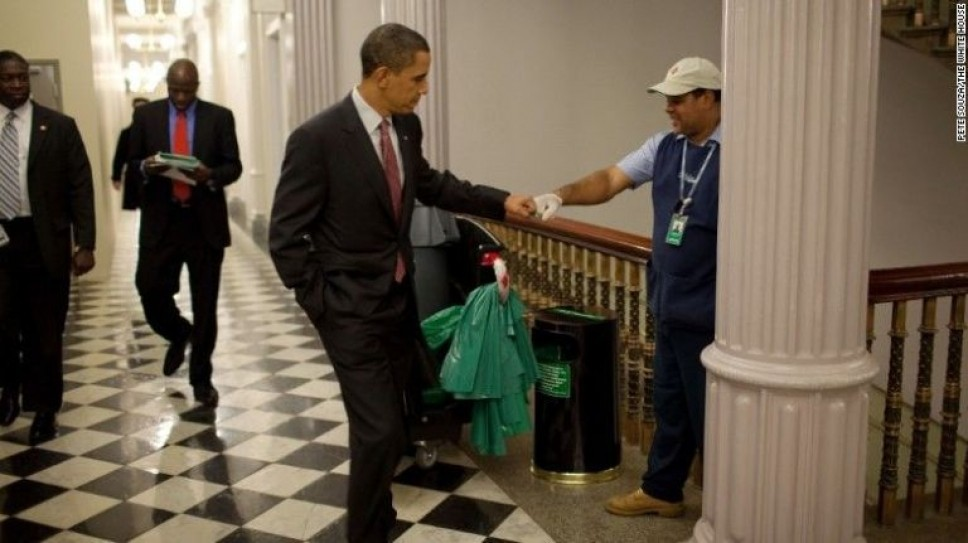 Барак Обама США Белый дом общение психология