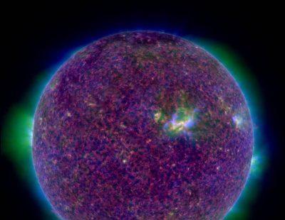 Солнце NASA Обсерватории солнечной динамики (SDO)
