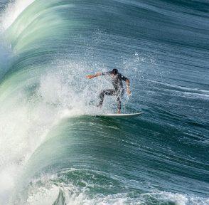 Рио-де-Жанейро серфер Бразилия Атлантический океан