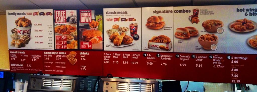 KFC протестирует вегетарианское меню в Великобритании