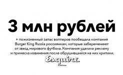 Россия чемпионат мира футбол ЧМ-2018 Burger King Russia