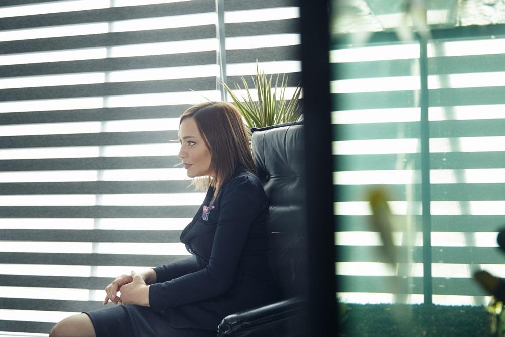 Алина Аникина председатель правления Альфа-Банк Казахстан