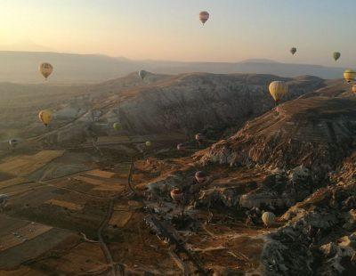 Андрей Кулагин Каппадокия Турция фестиваль воздушных шаров