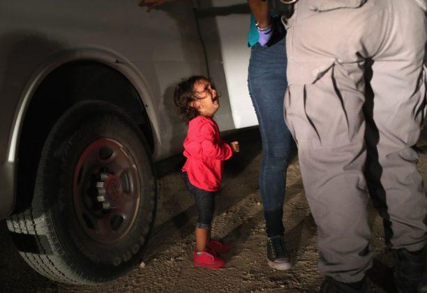 США политика нулевая терпимость фотография иммиграция