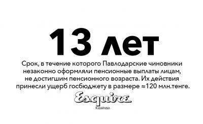 Павлодар чиновники взятки госбюджет пенсионные выплаты
