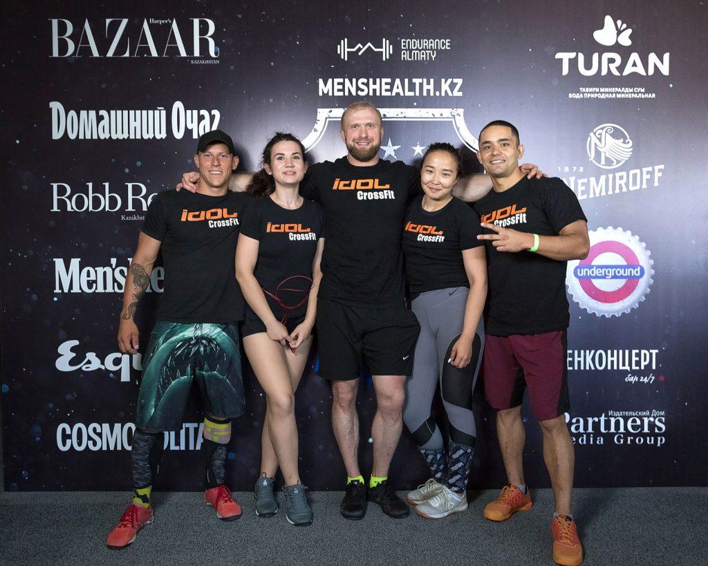 Men's Health Cup 2018 кроссфит Алматы