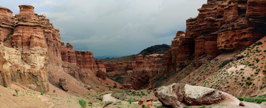 Чарынский каньон Казахстан ЮНЕСКО биосферный резерват