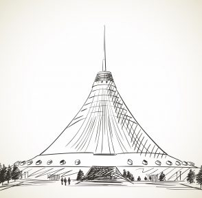 Астана Казахстан столица Хан-Шатыр