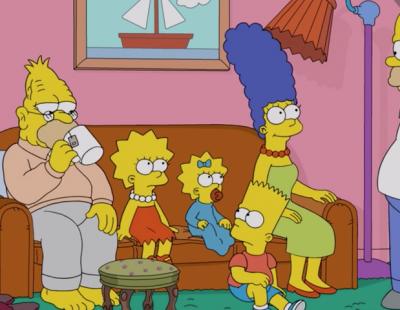 Симпсоны сериал декор гостиная