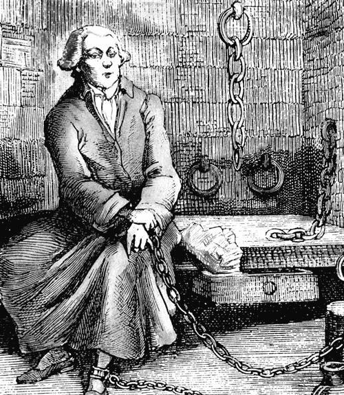 маркиз де Сад Бастилия заключение гравюра