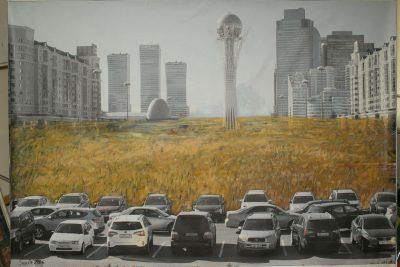 Сауле Сулейменова Астана выставка Astana Line