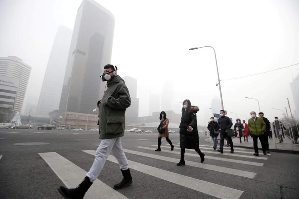 Пекин загрязнение воздуха умственные способности исследование наука