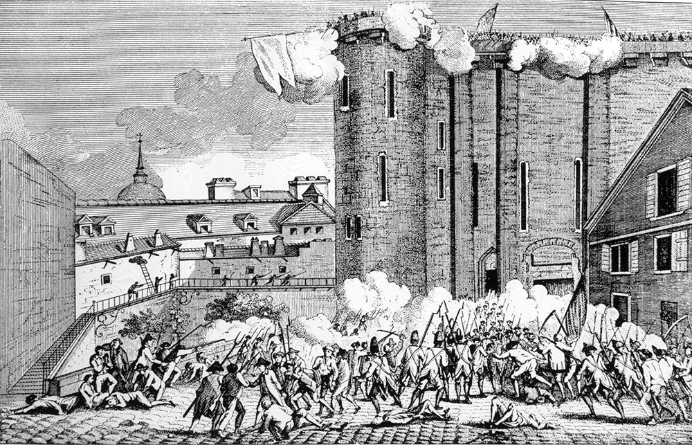 осада Бастилии