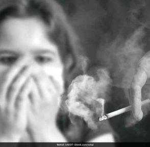 пассивное курение дети здоровье исследование легкие