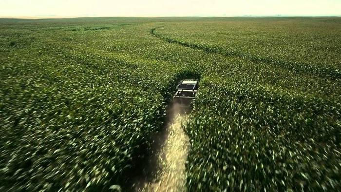 Интерстеллар Кристофер Нолан кино фильмы голливуд CGI кукуруза съемки поле