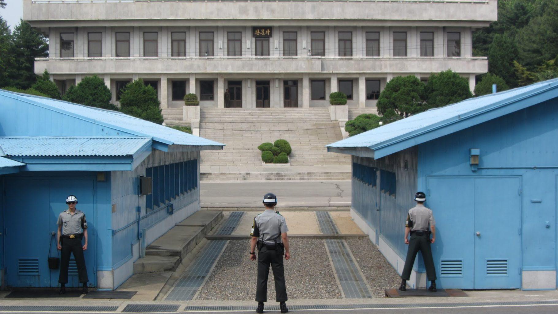 демилитаризованная зона Южная Корея КНДР мины граница