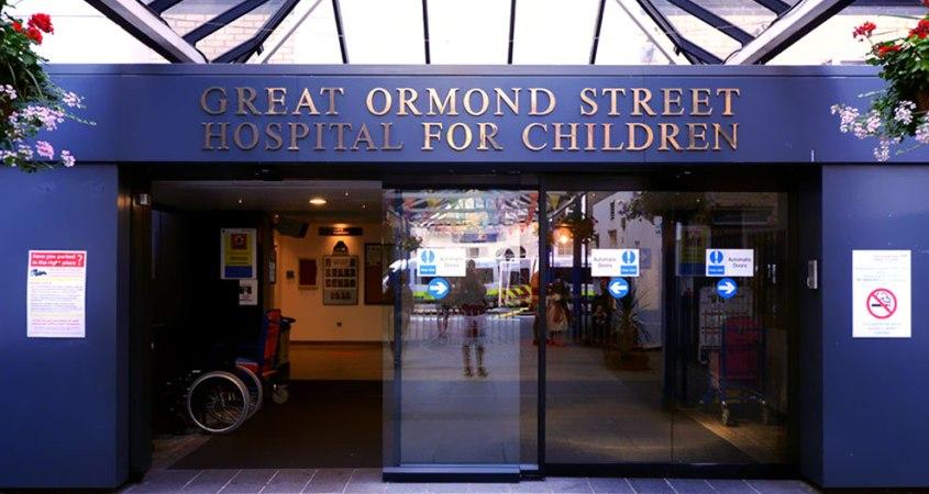благотворительность помощь джеймс барри больница Грейт Ормонд стрит питер пэн
