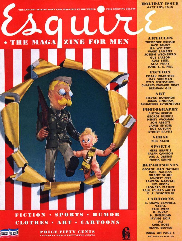Esquire US обложка 1945