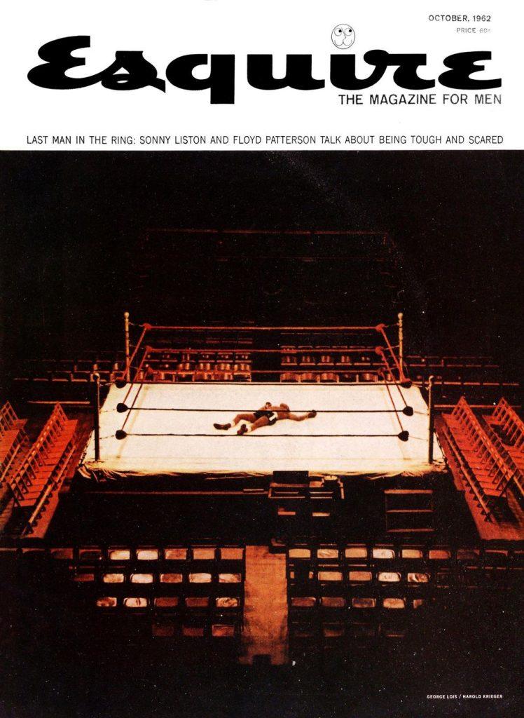 обложка Esquire US коллекция история октябрь 1962