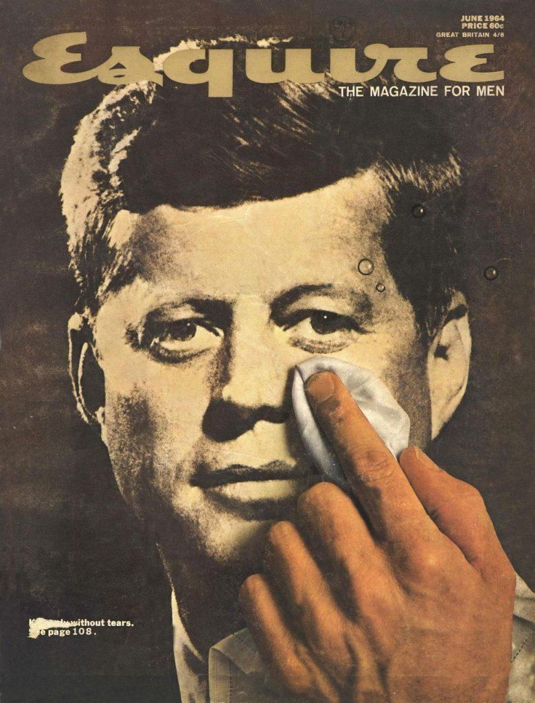 обложка Esquire US коллекция история 1964 убийство Кеннеди Джон Ф Кеннеди
