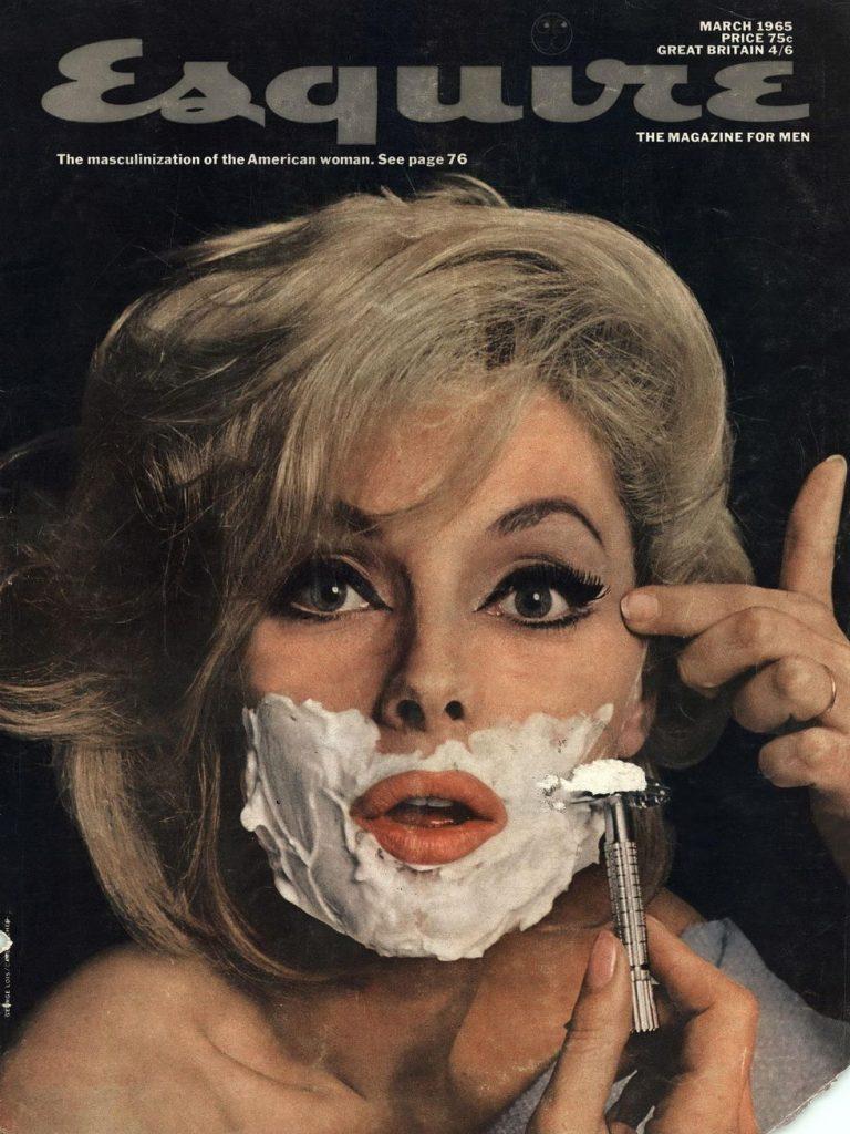 обложка Esquire US коллекция история март 1965