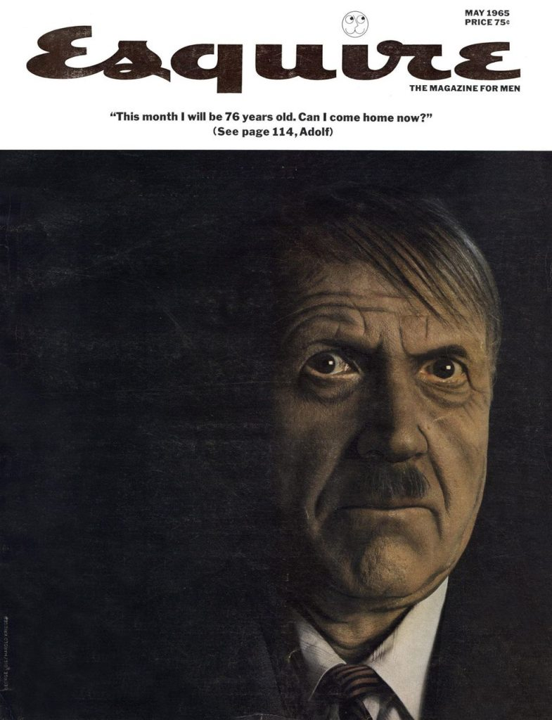 обложка Esquire US коллекция история май 1965