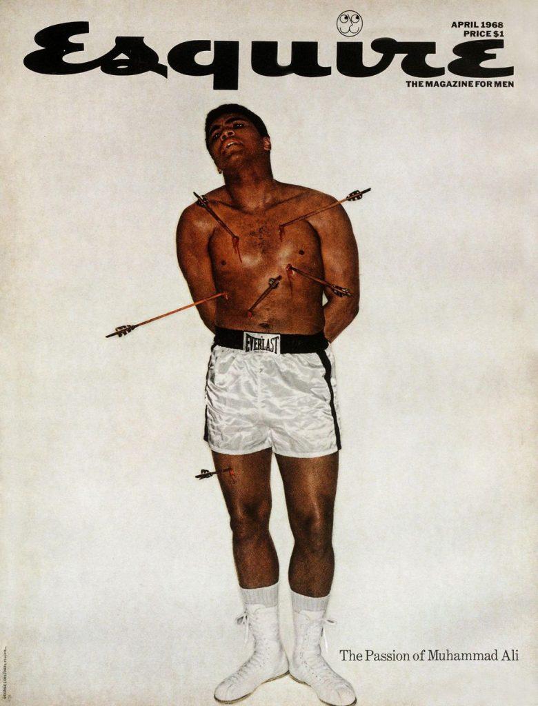 обложка Esquire US коллекция история Мухаммед Али апрель 1968
