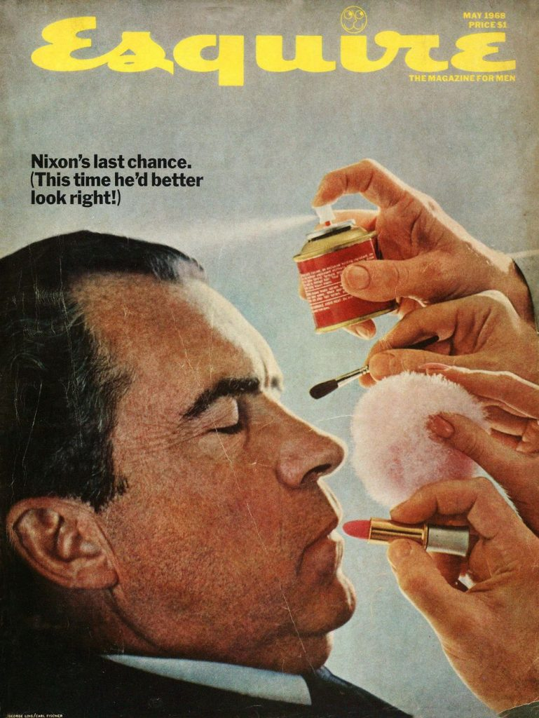 обложка Esquire US коллекция история Ричард Никсон сша президент май 1968