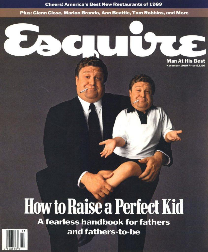 обложка Esquire US коллекция история отцовство