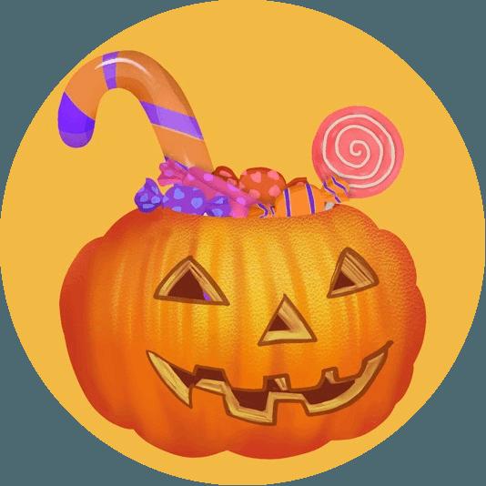 фонарь джека хэллоуин символ сладость или гадость
