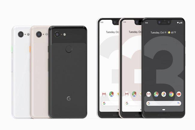 google смартфоны Pixel 3 Pixel 3 XL