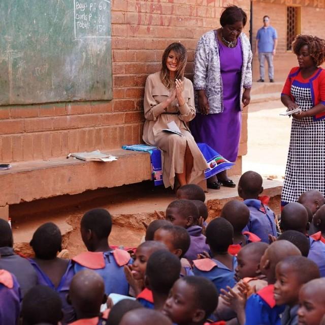 Мелания Трамп Малави визит Африка США