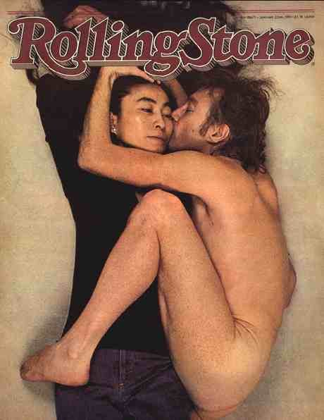 Джон Леннон Йоко Оно Rolling Stone Энни Лейбовиц