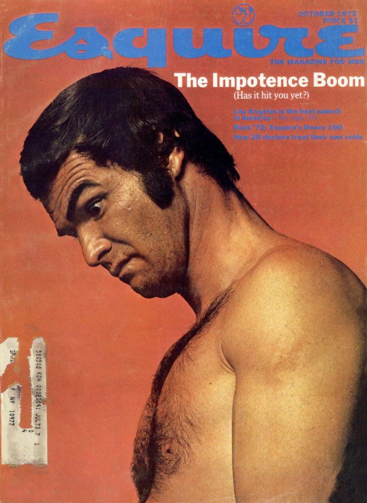 обложка Esquire US коллекция история июль 1972 импотенция