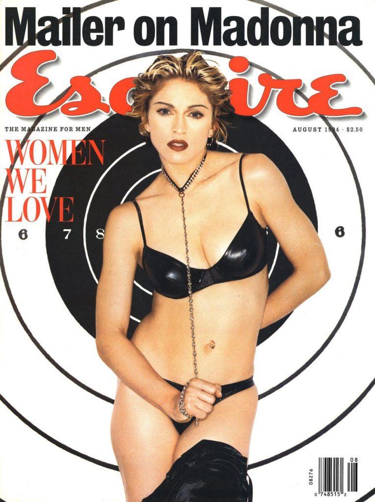 обложка Esquire US коллекция история Мадонна 1994