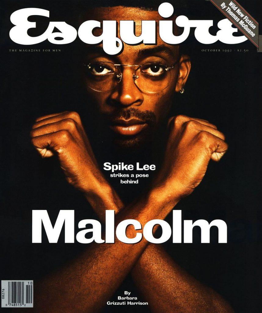 обложка Esquire US коллекция история Малькольм X