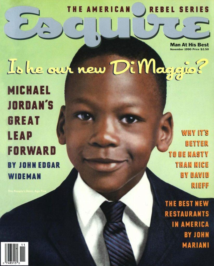 обложка Esquire US коллекция история майкл джордан