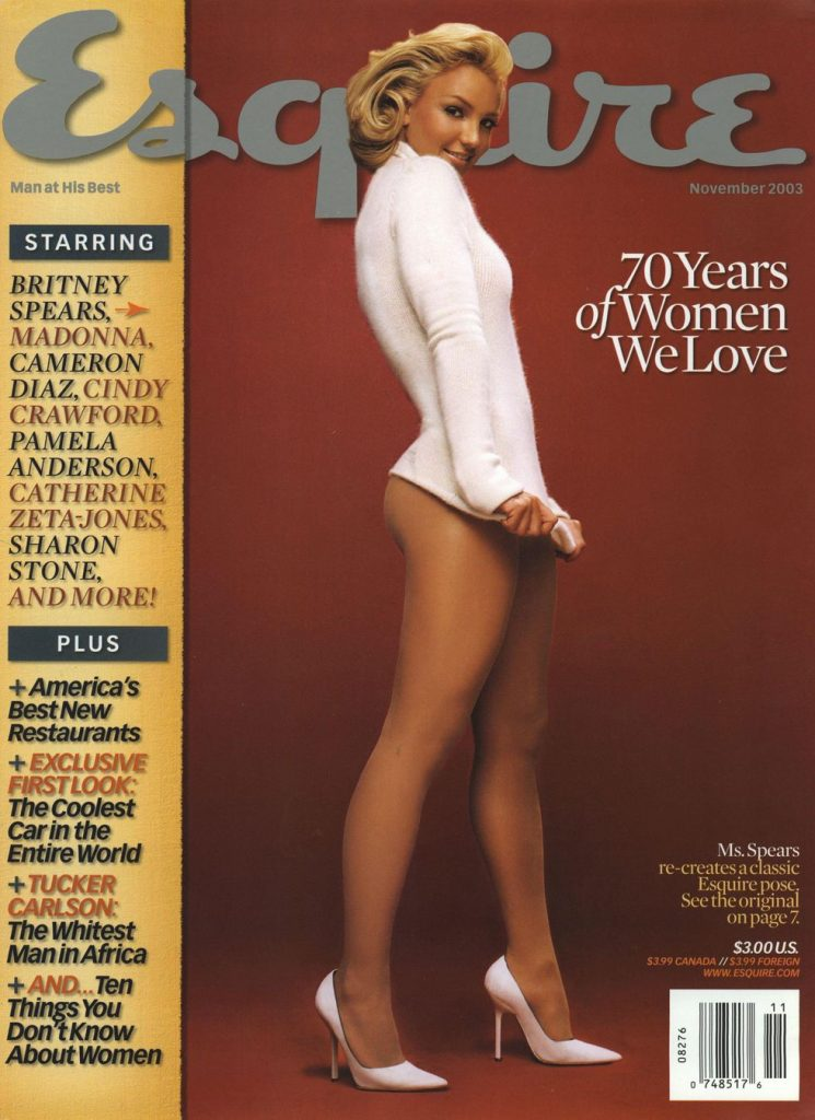 обложка Esquire US коллекция история