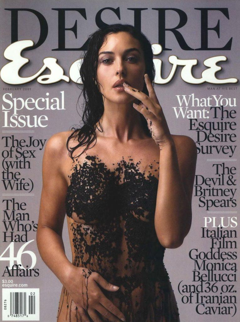 обложка Esquire US коллекция история Моника Беллуччи