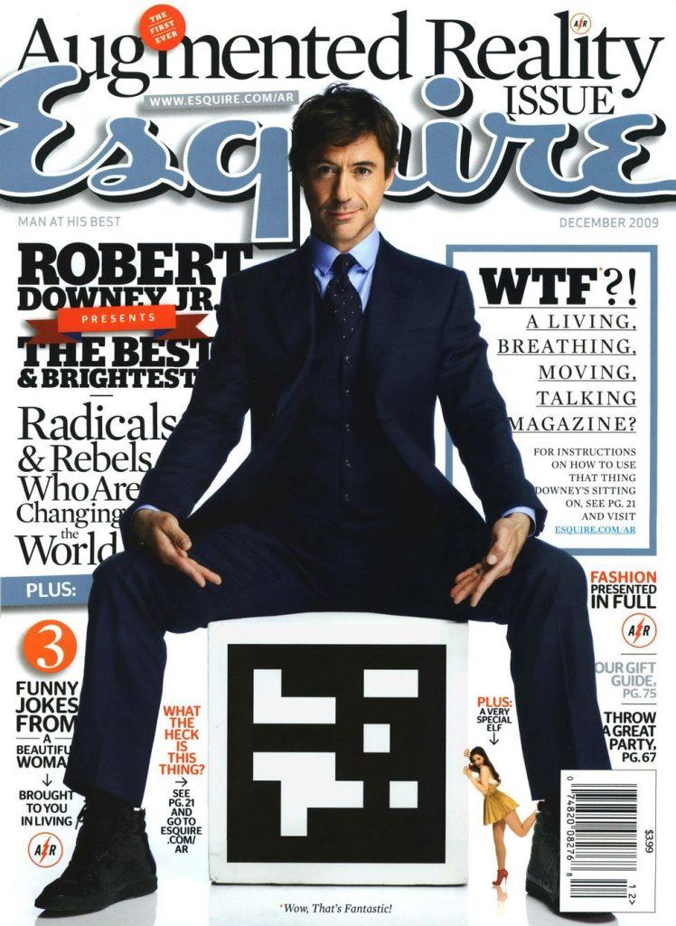 обложка Esquire US коллекция история Роберт Дауни младший Железный человек Marvel