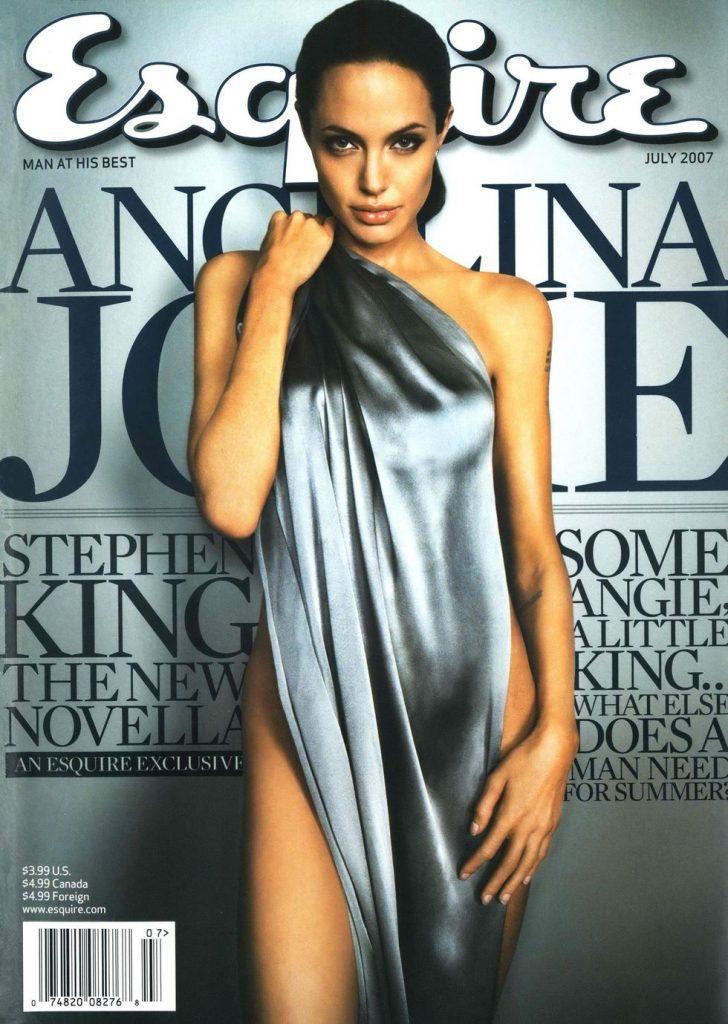 обложка Esquire US коллекция история Анджелина Джоли