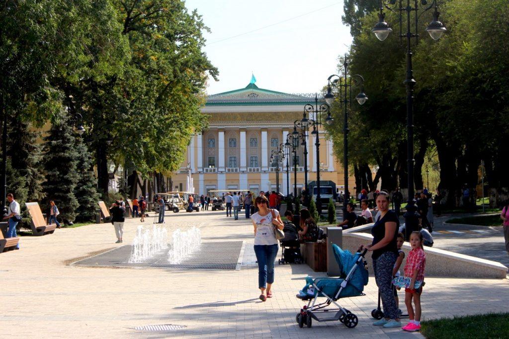 улица Панфилова Алматы Казахстан ЛРТ теплосети