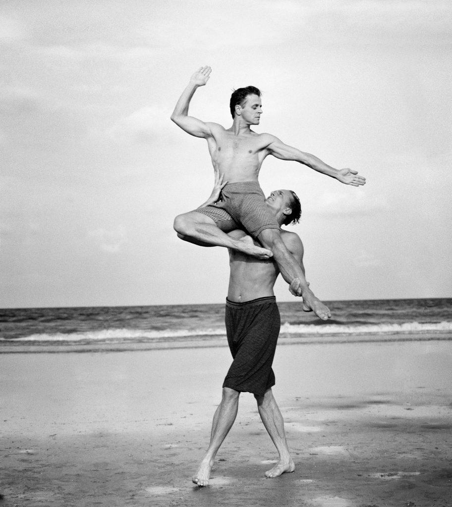 Михаил Барышников балет танец портрет Энни Лейбовиц пляж Флорида