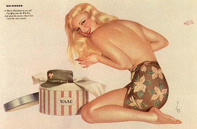 Esquire Varga girl