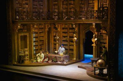 опера Астана Опера Абай гастроли трансляция Италия Генуя