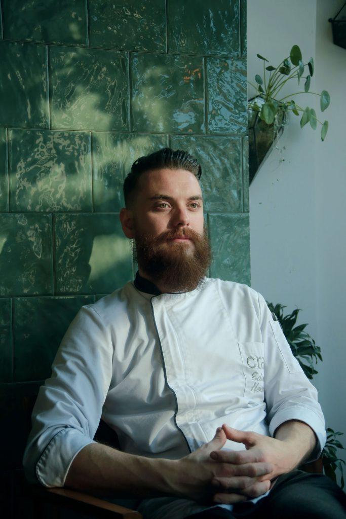 Эдвард Хеншелл еда блюдо Craft Kitchen&Bar Алматы ресторан