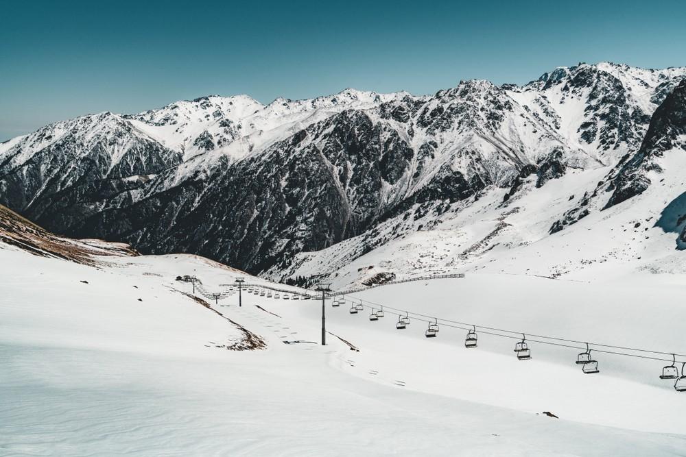 Шымбулак горнолыжный курорт Алматы Казахстан
