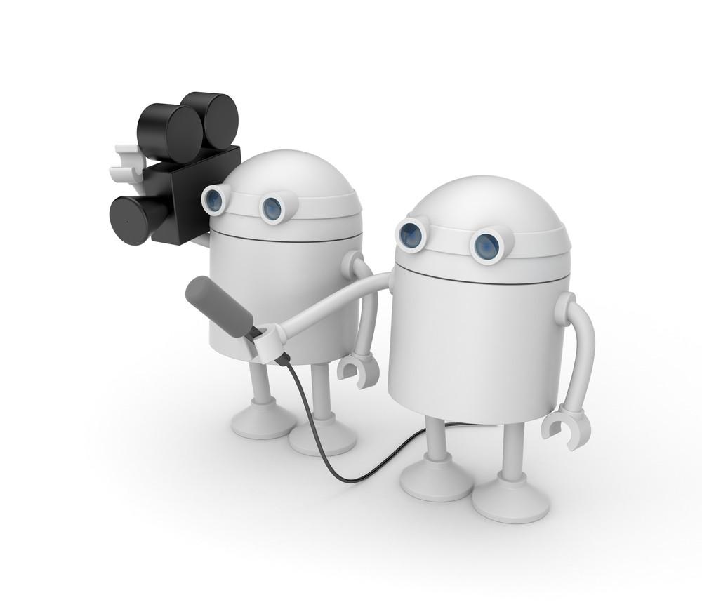 виртуальный журналист, робот диктор, виртуальные новости